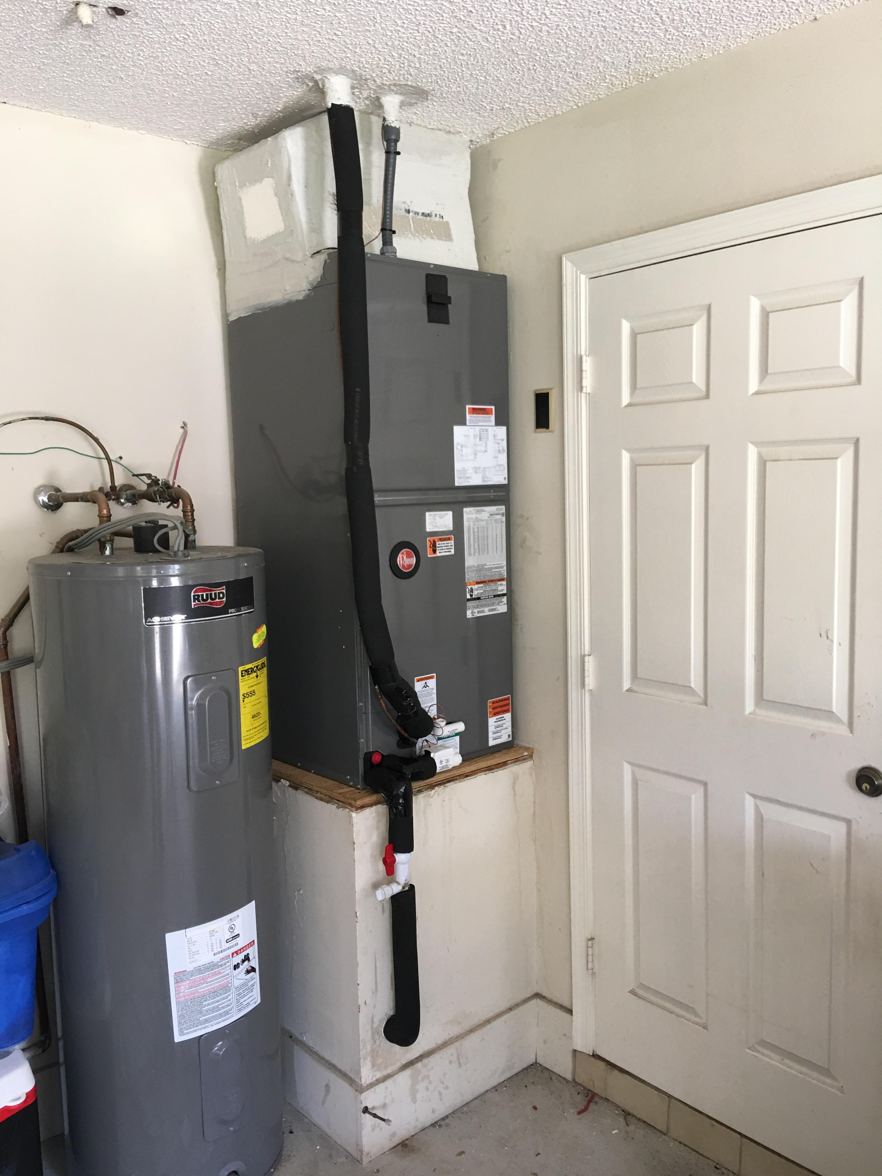 Residential ac replacement Rheem 3.5 Ton Air Handler Wellington