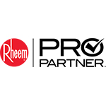 Ewing is proud to be recognized as a Rheem® Pro Partner